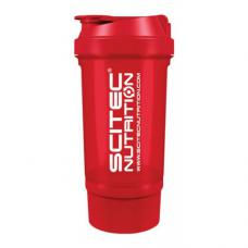 Scitec Shaker Travel (500 ml red)