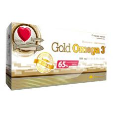 Gold Omega 3 65% (60 капсул) Olimp Labs