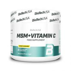 MSM + Vitamin C 1500 mg (150 грамм) BioTech